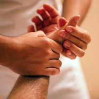 Reflexology for Hand Therapy